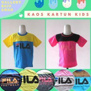 Distributor Kaos Kartun Kids Terbaru Murah di Bandung