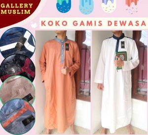 Supplier Baju Jubah Laki Laki Dewasa Murah di Bandung