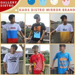 Konveksi Kaos Distro Mirror Brand Dewasa Murah di Bandung