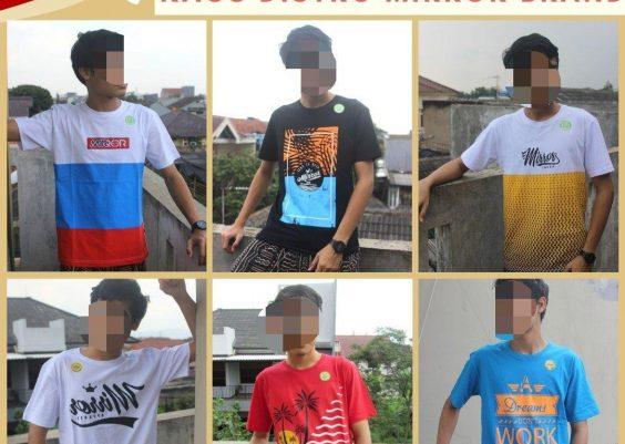 Grosiran Murah di Bandung Sentra Grosir Kaos Distro Surfing Mirror Brand Dewasa Terbaru MURRAAH di Bandung Mulai 36Ribuan