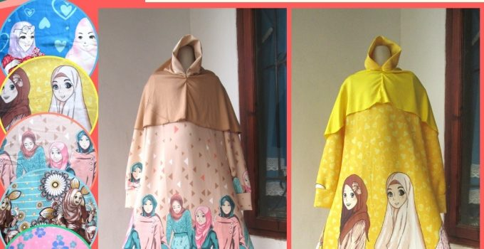 Grosiran Murah di Bandung Reseller Gamis Scuba LELANG Anak Perempuan Murah di Bandung 58Ribuan