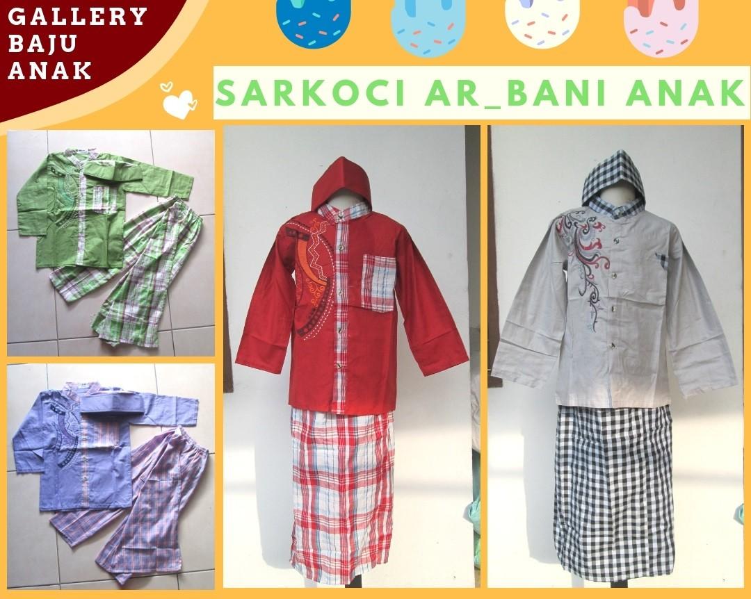 GROSIR PAKAIAN MURAH ONLINE DI BANDUNG Distributor Sarkoci Ar-Bani Anak Laki Laki Murah di Bandung Mulai 40RIBUAAN!!