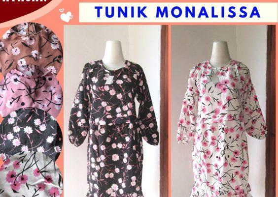 Grosiran Murah di Bandung Pusat Grosir Tunik Monalissa Wanita Dewasa Trendy Murah di Bandung 36RIBUAN