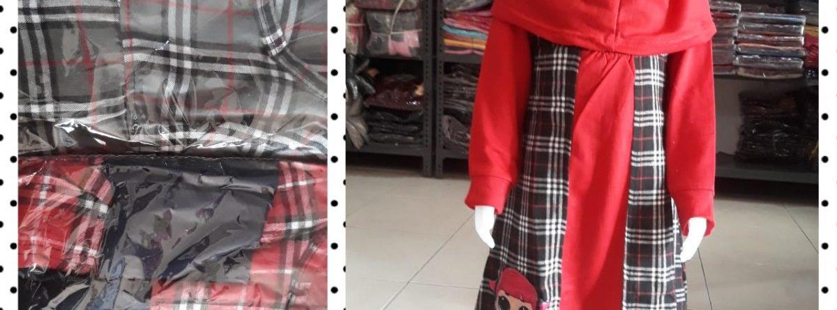 Grosiran Murah di Bandung Produsen Gamis Dena Flanell Anak Perempuan Murah di Bandung Mulai 54.000an