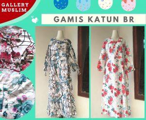 Distributor Gamis Katun BR Dewasa Murah di Bandung