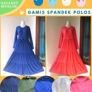 Distributor Gamis Spandek Polos Dewasa Termurah di Bandung