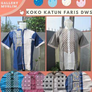 Distributot Baju Koko Katun Faris Dewasa Terbaru Murah di Bandung