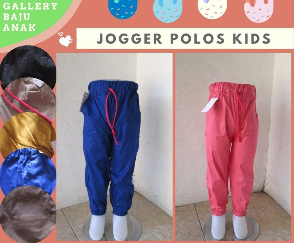 Grosiran Murah di Bandung Konveksi Celana Jogger Polos Kids Anak Termurah di Bandung Hanya Rp.15.500