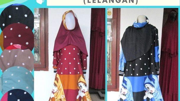 Grosiran Murah di Bandung Distributor Gamis Misbee Lelang Anak Perempuan Murah di Bandung Hanya 35RIBUAN