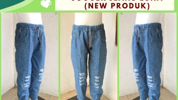 Grosiran Murah di Bandung Distributor Celana Jogger Jeans Luna Anak Tanggung Murah di Bandung Hanya 30RIBUAN
