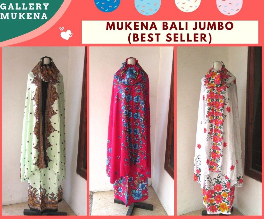 Grosiran Murah di Bandung Supplier Mukena Bali Jumbo Dewasa Termurah di Bandung Hanya 69RIBUAN