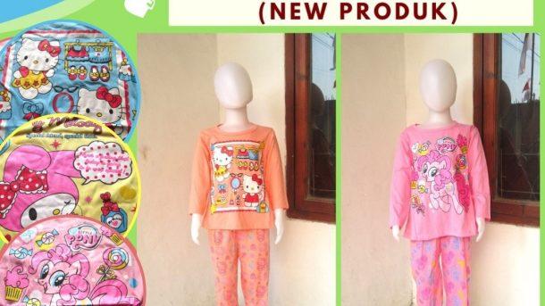 Grosiran Murah di Bandung Supplier Setelan Ainun Panjang Anak Perempuan Karakter Murah di Bandung Mulai 17RIBUAN