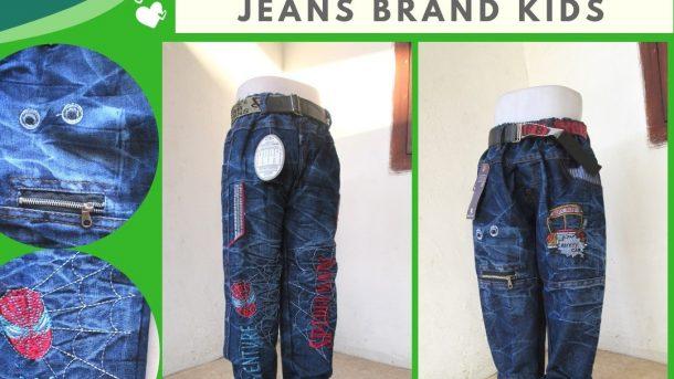 Grosiran Murah di Bandung Distributor Celana Jeans Brand Kids Anak Laki Laki Murah di Bandung 45RIBUAN