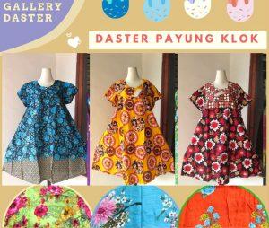 GROSIR PAKAIAN MURAH ONLINE DI BANDUNG Produsen Daster Payung Klok Waniat Dewasa Termruah di Bandung