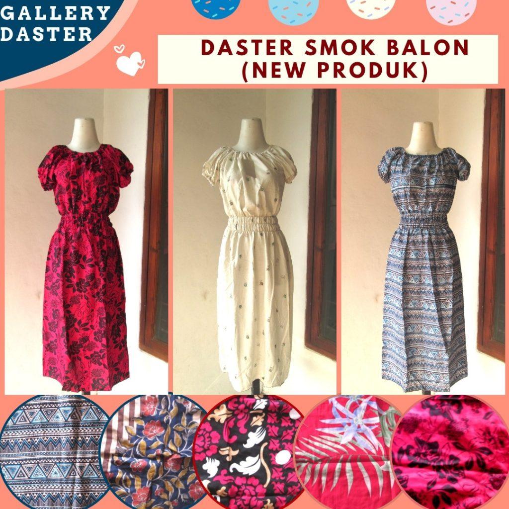 Grosiran Murah di Bandung Konveksi Daster Smok Balon Wanita Dewasa Termurah di Bandung Hanya 26RIBUAN