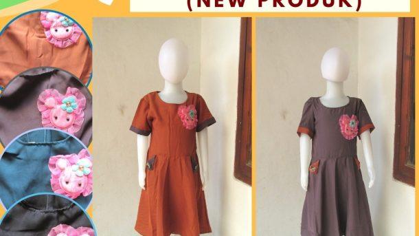 Grosiran Murah di Bandung Supplier Dress Annabelle Anak Perempuan Murah di Bandung Hanya 39RIBUAN