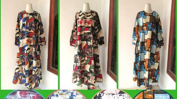 GROSIR PAKAIAN MURAH ONLINE DI BANDUNG Produsen Gamis Linen Wanita Dewasa Murah di Bandung Hanya 62RIBUAN