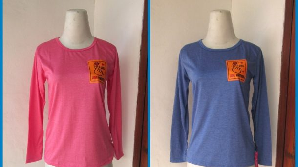Grosiran Murah di Bandung Distributor Kaos AC Spandek Tangan Panjang Anak Tanggung Termurah di Bandung 14RIBUAN