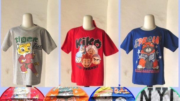 Grosiran Murah di Bandung Supplier Kaos Boy Kids Termurah di Kota Bandung Hanya 17RIBUAN!!!