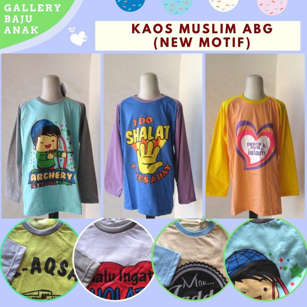 Grosiran Murah di Bandung Distributor Kaos Muslim Anak Terbaru Murah di Bandung Hanya 25RIBUAN