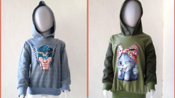 GROSIR PAKAIAN MURAH ONLINE DI BANDUNG Reseller Sweater LED Anak Bisa Menyala Terbaru Murah di Bandung Hanya 30RIBUAN