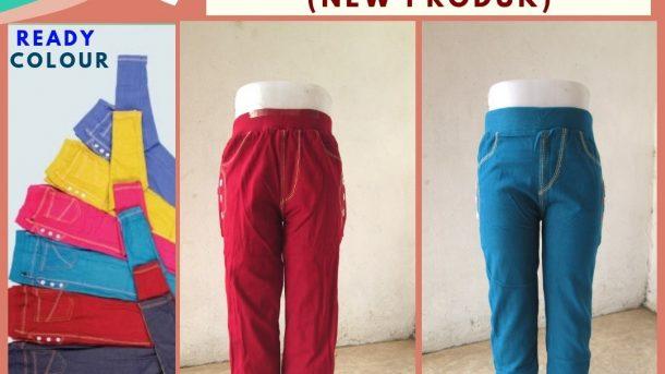 Grosiran Murah di Bandung Produsen Celana Legging Denim Anak Perempuan Murah di Bandung Hanya 27RIBUAN