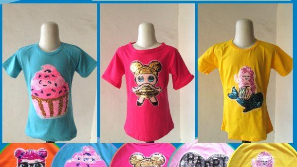 GROSIR PAKAIAN MURAH ONLINE DI BANDUNG Distributor Kaos Usap Anak Perempuan Murah di Bandung Hanya 28RIBUAN