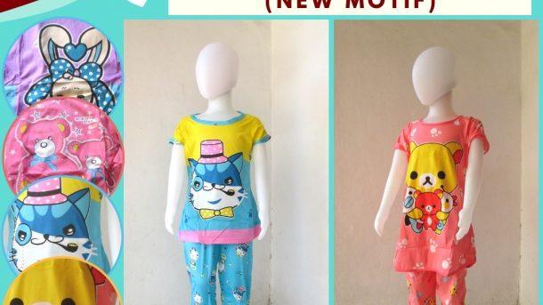 Grosiran Murah di Bandung Produsen Baju Tidur Korea CP Anak Karakter Murah di Bandung hanya 26RIBUAN