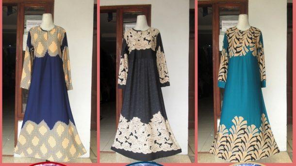 GROSIR PAKAIAN MURAH ONLINE DI BANDUNG Produsen Gamis Jersey Wanita Dewasa Terbaru Murah di Bandung 45RIBUAN