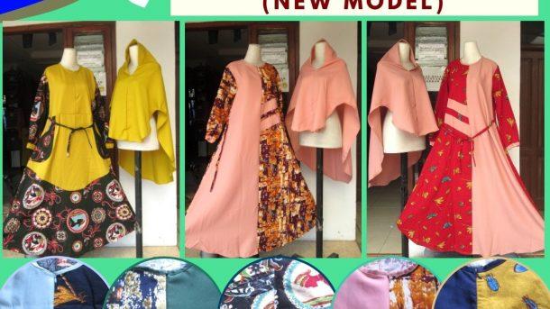 GROSIR PAKAIAN MURAH ONLINE DI BANDUNG Supplier Gamis Syar'i Rami Model Terbaru Murah di Bandung Hanya 86RIBUAN