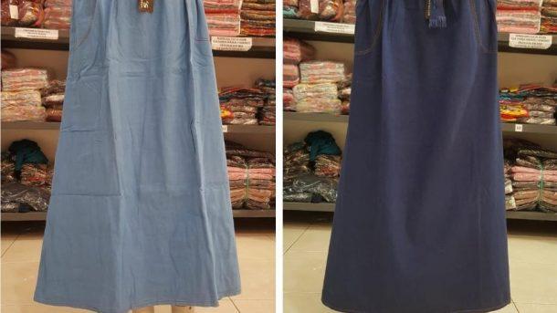 Grosiran Murah di Bandung Distributor Rok Jeans Wanita Dewasa Termurah di Bandung Hanya 40RIBUAN