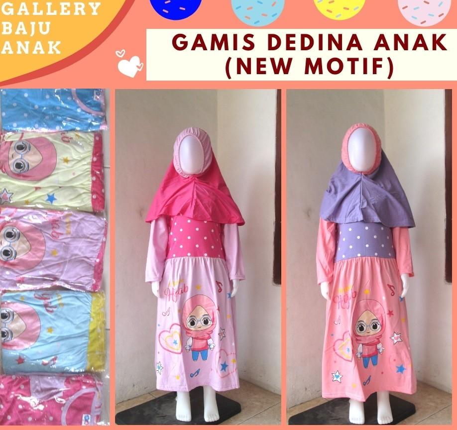 Grosiran Murah di Bandung Supplier Gamis Dedina Anak Perempuan Karakter Murah di Bandung Mulai 37RIBUAN