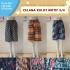 Grosiran Murah di Bandung Distributor Celana Kulot Motif 3/4 di Bandung Rp 28,000