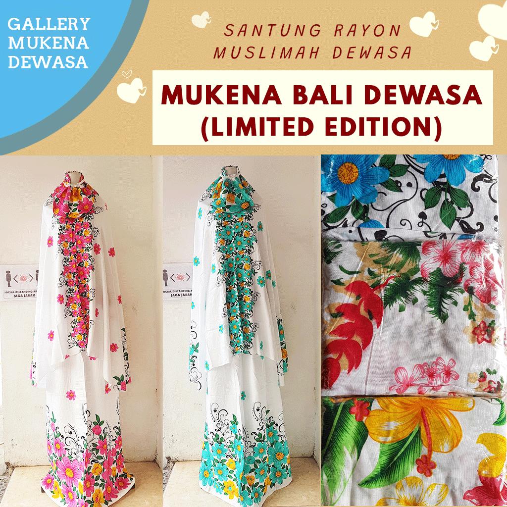 GROSIR PAKAIAN MURAH ONLINE DI BANDUNG Distributor Mukena Bali Dewasa di Bandung Rp 63.000