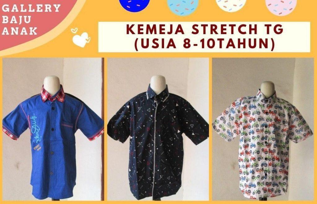 Grosiran Murah di Bandung Produsen Kemeja Stretch Tanggung di Bandung Rp 30.000