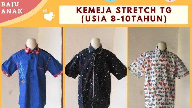 GROSIR PAKAIAN MURAH ONLINE DI BANDUNG Produsen Kemeja Stretch Tanggung di Bandung Rp 30.000