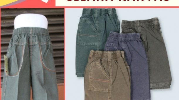 Grosiran Murah di Bandung Distributor Celana Loreng Anak di Bandung Rp 18,000