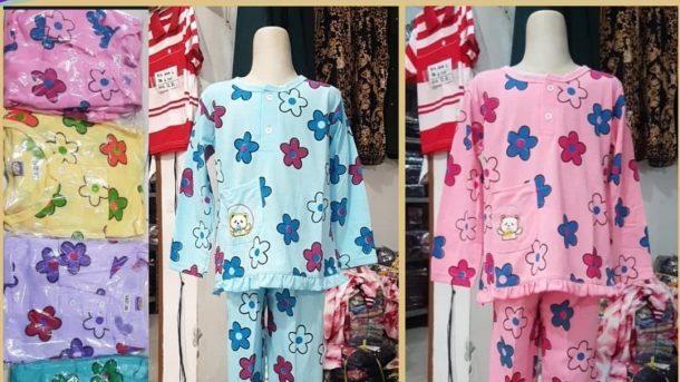 Grosiran Murah di Bandung Grosir Babydoll Cotton Anak Tangan Panjang di Bandung 24,000