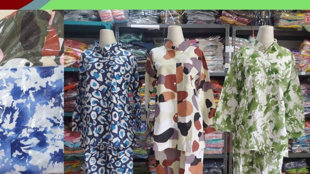 Grosiran Murah di Bandung Distributor Setelan TIE DYE Rayon di Bandung Rp 60,000