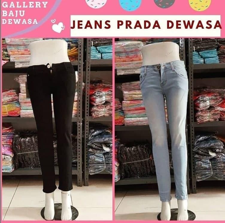 Grosiran Murah di Bandung Konveksi Jeans Prada Dewasa di Bandung Rp 56000