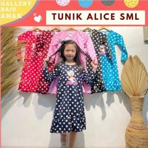 GROSIR PAKAIAN MURAH ONLINE DI BANDUNG Tunik Alice Murah
