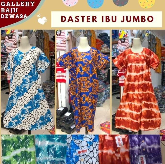 GROSIR PAKAIAN MURAH ONLINE DI BANDUNG Produsen Daster Ibu Jumbo di Bandung 27,000