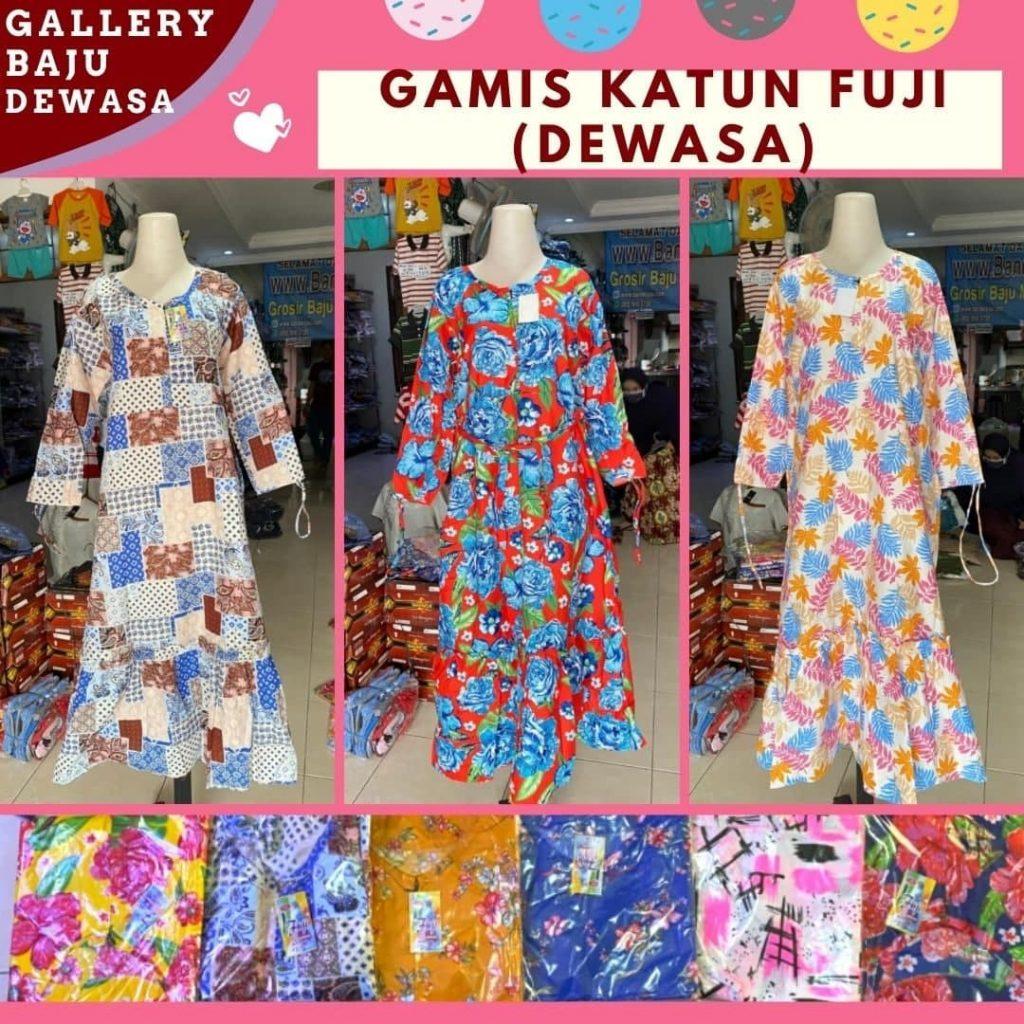 GROSIR PAKAIAN MURAH ONLINE DI BANDUNG Grosir Gamis Katun Dewasa di Bandung Rp 32000