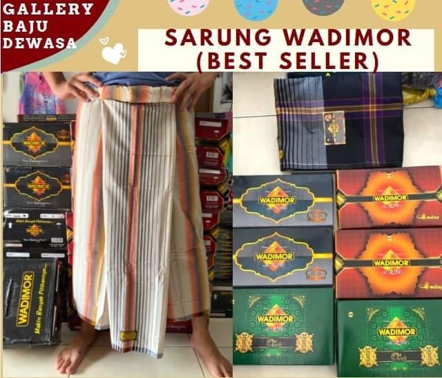 GROSIR PAKAIAN MURAH ONLINE DI BANDUNG Konveksi Sarung Wadimor Original di Bandung Rp 47000