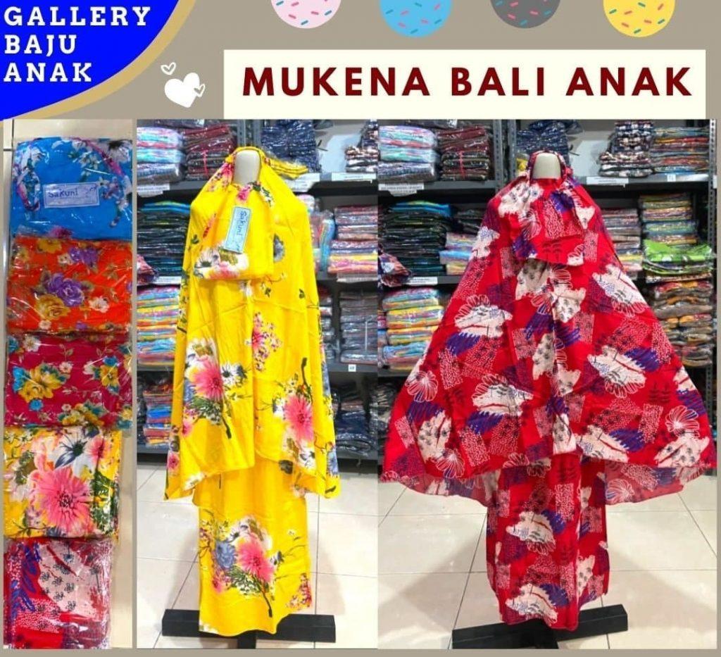GROSIR PAKAIAN MURAH ONLINE DI BANDUNG Produsen Mukena Bali Anak di Bandung Rp 49000