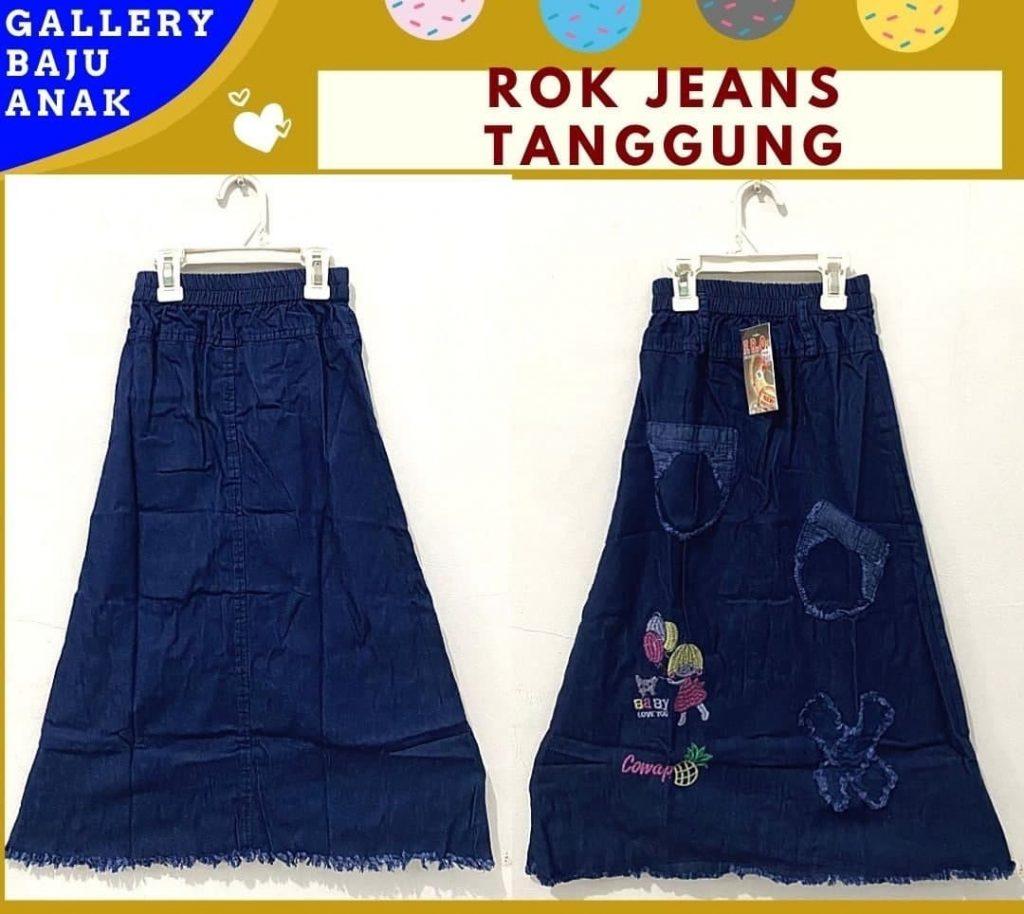 GROSIR PAKAIAN MURAH ONLINE DI BANDUNG Pabrik Rok Jeans TANGGUNG di Bandung Rp 40000